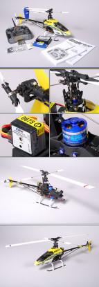 E-Flite 400 3D helicóptero y espectro DX6i (Modo 2)