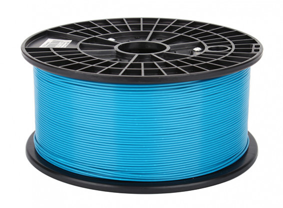 CoLiDo 3D Filamento impresora 1.75mm ABS 1kg Carrete (azul)