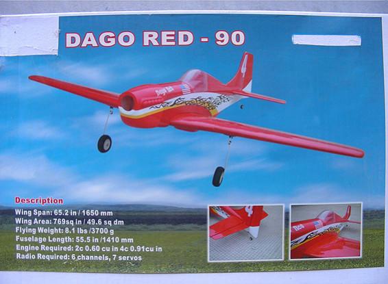 SCRATCH / DENT Dago roja-90 (Almacén AUS)
