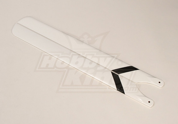700 mm de fibra de carbono principal Cuchillas