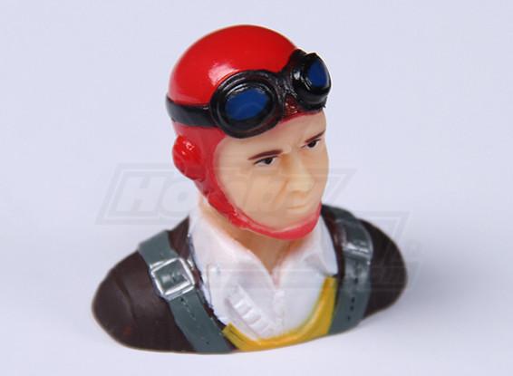 Parkfly clásico de la era piloto (rojo) (H37 x W40 x D22mm)