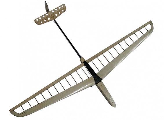 DLG cortado con láser Balsa Kit 1000 mm Envergadura