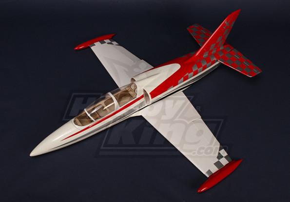 L-39 Albatros de fibra de vidrio de 70 mm Kit de EDF