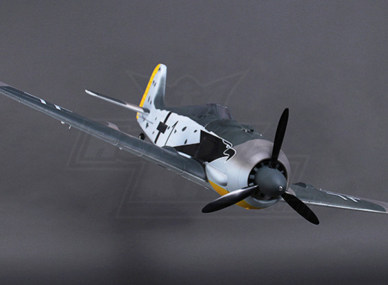 H-FW190 Rey w / Luces Flaps retrae Gear-Doors 1200 mm (PNF)