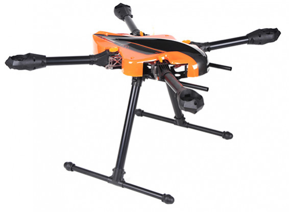 KongCopter FQ700 plegable Quad-Helicóptero (KIT)
