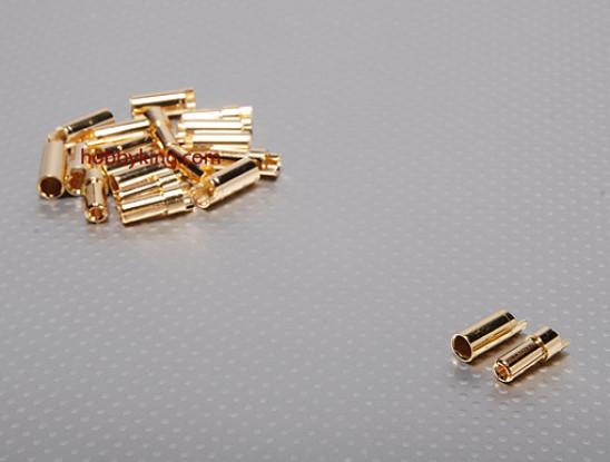 PolyMax 5.5mm conectores de oro de 10 pares (20pc)