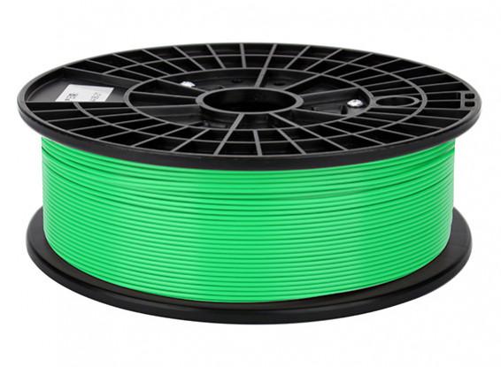 CoLiDo 3D Filamento impresora 1.75mm ABS 500G Carrete (verde)