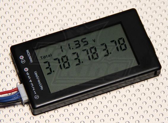 HobbyKing ™ LCD de pila del detector 6S