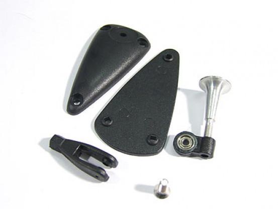 Aleación de Ajustable de Hornos W Base / 2.8x15mm Teniendo