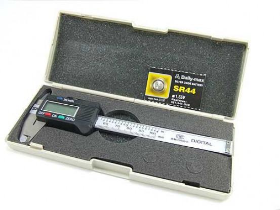 Pie de rey digitales 100mm