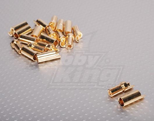 PolyMax 5.5mm conectores de oro (10 pares / set)