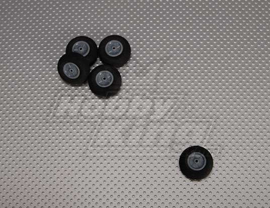 La luz de la espuma de ruedas Diam: 28, Anchura: 12 mm (5pcs / bolsa)