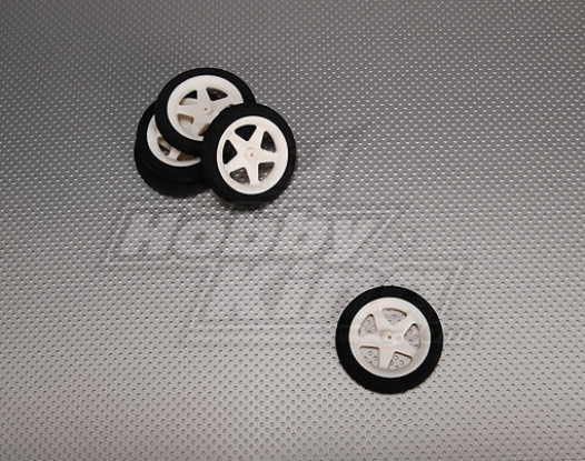 La luz de la espuma de ruedas Diam: 60, Anchura: 10 mm (5pcs / bolsa)