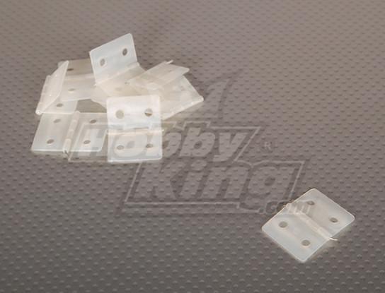 Nylon y Pinned Bisagra 26.5x36 (10pcs / bag)
