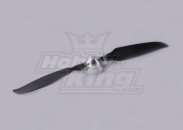 Plegable 11x8 ensamblador Propeller (Aleación / Hub Spinner) (1 unidad / bolsa)