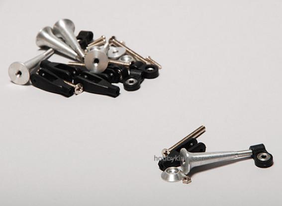 Extra Fuerte control cuernos w / Rodamiento de 34 mm (5pcs)