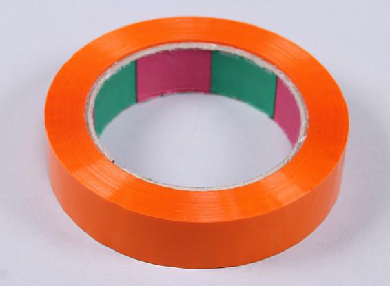 Cinta ala 45mic x 24 mm x 100 m (Estrecho - naranja)