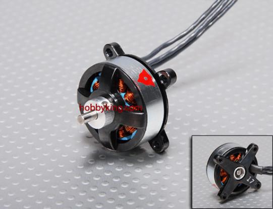 1700kv serie Mini Mite sin escobillas para Outrunner 3D Parque Folletos