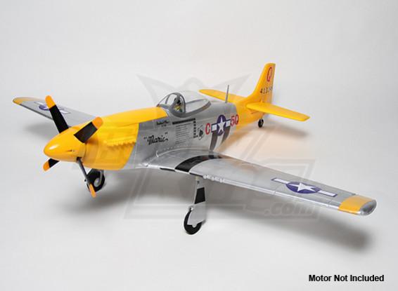 P-51D 1,2 m EPO con Auto Canopy (ARF)