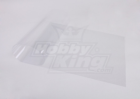 Transparente Film PET-2C de 1 metro