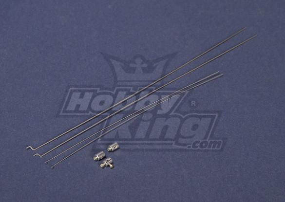 Turnigy Mini-Swift reemplazo varilla de empuje Set