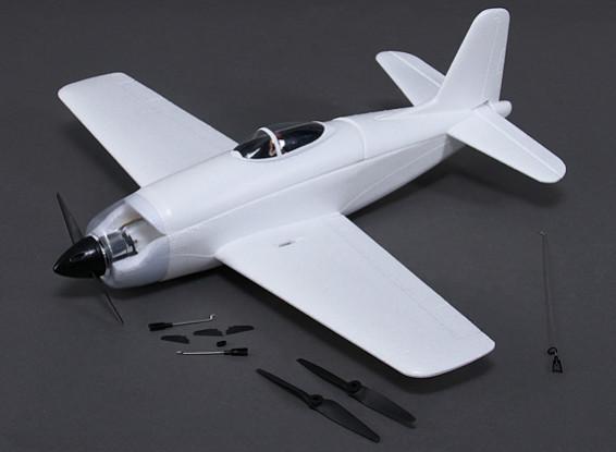 Rarebear Funfighter - EPO 620mm Un-Pintado Kit Versión con motor