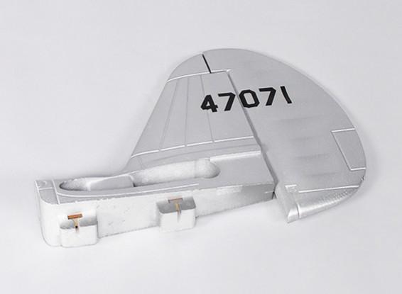 P-40N (plata) 1700mm - Reemplazo del timón