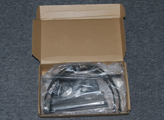 SCRATCH / Frame DENT Hobbyking X580 fibra de vidrio Quadcopter w / montaje de cámara de 585mm