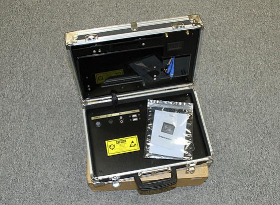 "SCRATCH / DENT - Ground Station FPV Quanum con 8 ""Monitor de Voltaje y Display"