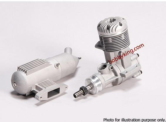 SCRATCH / DENT - ASP 120AR motor de dos tiempos Glow