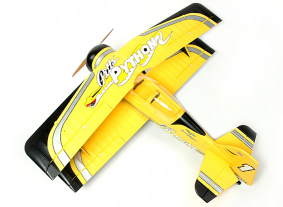 SCRATCH / DENT - Pitts Python Aerobatic biplano EPO 1400mm (PNF)