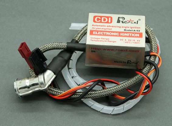 SCRATCH / DENT - Rcexl solo cilindro CDI de encendido NGK para CM6-10mm 120 grados Cap