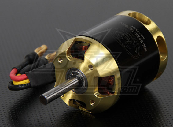 Scorpion HK-3026-1600kv sin escobillas del motor Outrunner