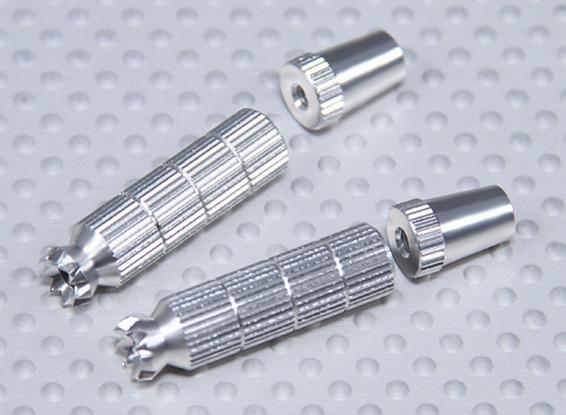 Aleación antideslizante TX Control de palos largos (Futaba TX)