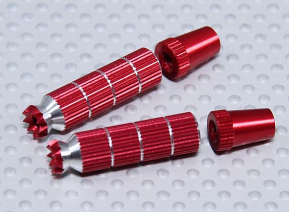 Aleación antideslizante TX Control de palos largos (Futaba TX Red)