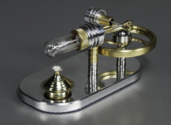 Stirling desplazador motor - Visualización de modelo de trabajo