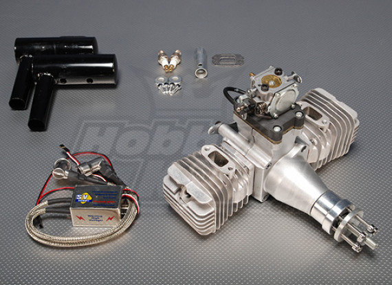 SV 100cc Gas gemelo CDI Motor 7.1kw (ver2) SELLOUT