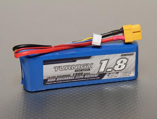 Turnigy 1800mAh 3S Lipo 20C Paquete