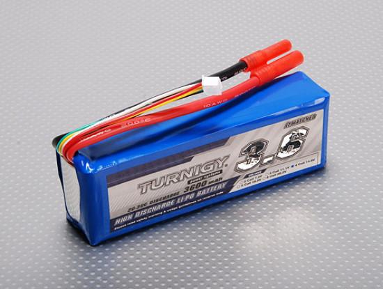 Lipo 20C Paquete Turnigy 3600mAh 4S