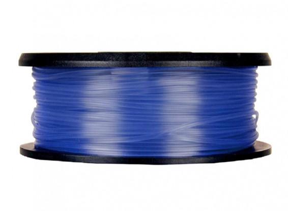 CoLiDo 3D Filamento impresora 1.75mm PLA 1kg Carrete (azul translúcido)