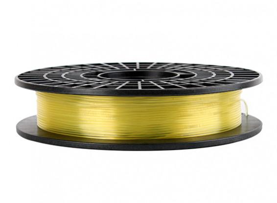 CoLiDo 3D Filamento impresora 1.75mm PLA 500G Carrete (amarillo traslúcido)