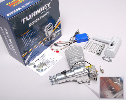 Turnigy HP50 gas 50cc motor de 5.5HP