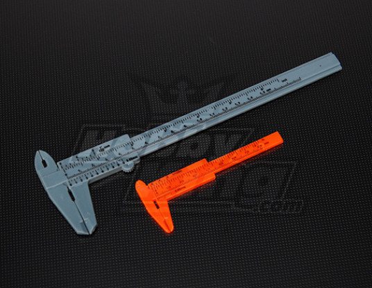 PP vernier de 80 mm y 150 mm Set