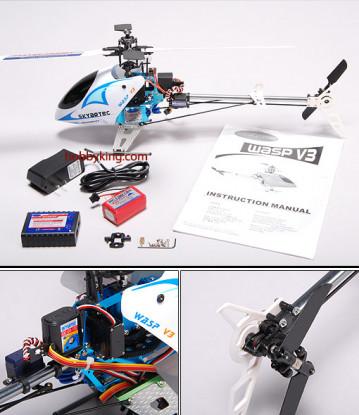 Avispa V3 Cinturón Impulsado R / C helicóptero (nueva versión)