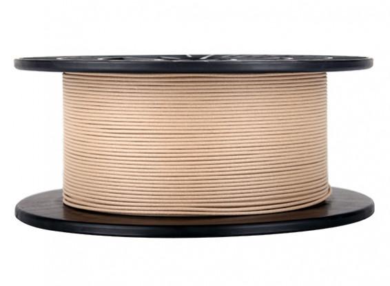 CoLiDo 3D Filamento impresora 1.75mm PLA 1kg Carrete (Madera)