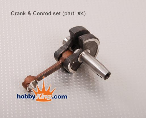 XY motor de biela y eje del juego de bielas (50 cc)