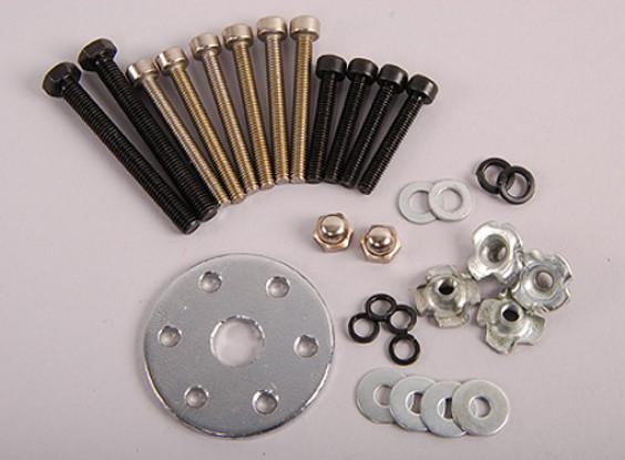 XYZ motor Tornillos y Prop conjunto titular (26cc)