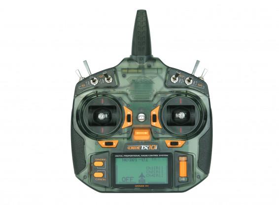 OrangeRx Tx10i Mode 2 versión UE 10ch 2.4GHz Sistema de Radio Compatible con DSMX
