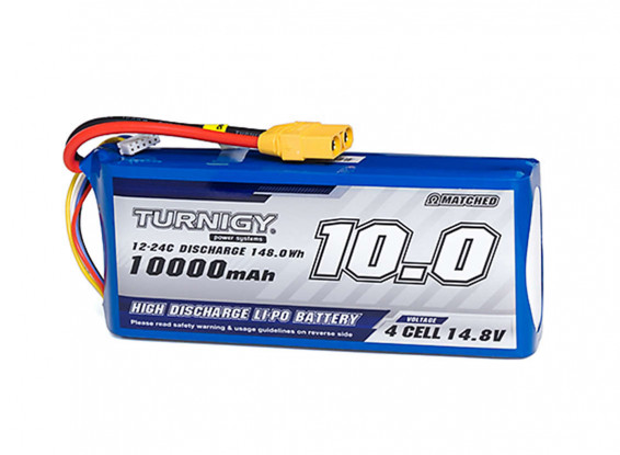 Turnigy-High-Capacity-10000mAh-4S-12C-Lipo-Pack-w-XT90-Battery-9067000392-0