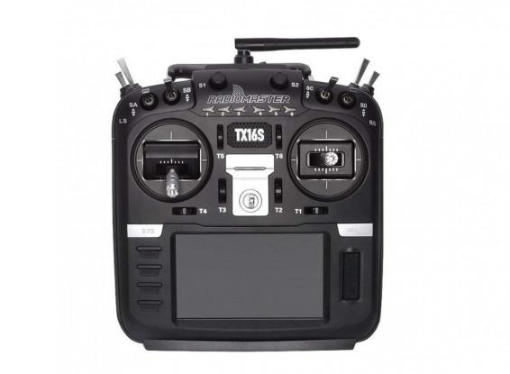 RADIOMASTER TX16S con sensor Hall Gimbals 2.4GHz 16ch Multi-Protocol OpenTx Transmisor